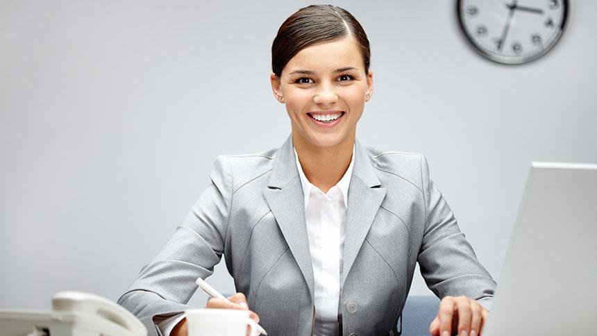 Broadtower Insurance Office Girl
